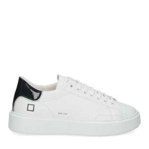 D.A.T.E. Sfera calf white black-2