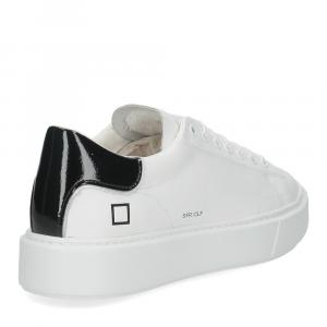 D.A.T.E. Sfera calf white black-5