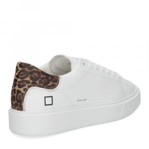 D.A.T.E. Sfera calf white leopard-5