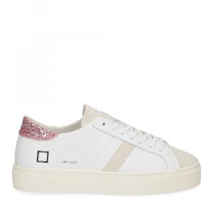 D.a.t.e. Vertigo calf white rose-2