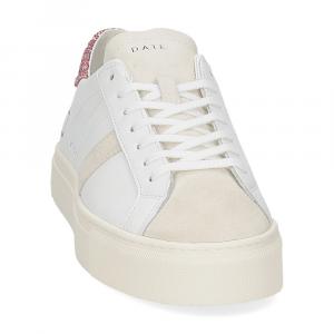 D.a.t.e. Vertigo calf white rose-3