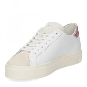 D.a.t.e. Vertigo calf white rose-4