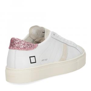 D.a.t.e. Vertigo calf white rose-5