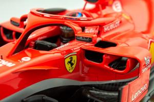 Ferrari Sf71-H Winner Us Gp 2018 Kimi Raikkonen 1/18 Looksmart