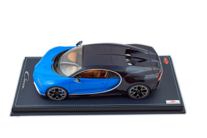 Bugatti Chiron Le Patron Light Blue Sport 1/18 MR