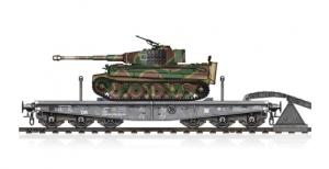 Schwere Plattformwagen Type SSyms 80 & Pz.Kpfw.VI Ausf.E Tiger I