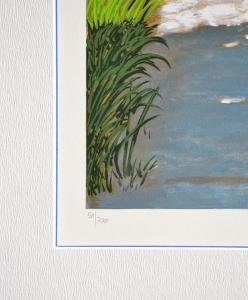 Mondelli Giò Composizione/9 Serigrafia e Litografia Form. cm 90x36