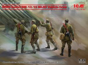 WWII Soviet BM-13-16 MLRS Vehicle Crew