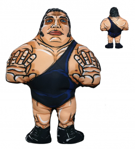 *PREORDER* I BEGNAMINI Cuscini da Collezione - Wrestling Superstars: ANDRE' THE GIANT (stampa Fronte/Retro)