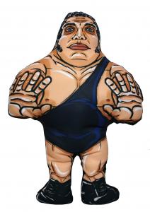 *PREORDER* I BEGNAMINI Cuscini da Collezione - Wrestling Superstars: ANDRE' THE GIANT (stampa solo Fronte)