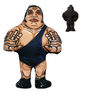 *PREORDER* I BEGNAMINI Cuscini da Collezione - Wrestling Superstars: ANDRE' THE GIANT (stampa solo Fronte)