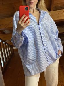 Camicia Vicolo Oversized righe