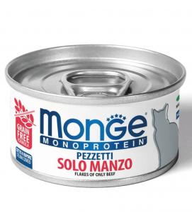 Monge Cat - Monoproteico - 80g x 6 lattine