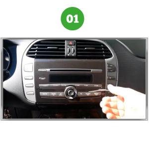 Kit Estrazione Tre Chiavette Autoradio Stereo Auto Fiat Bravo Audi Volkswagen