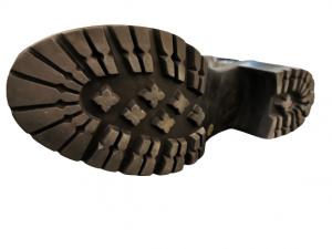 Stivale nero in pelle da donna | cerniera posteriore | made in  Italy