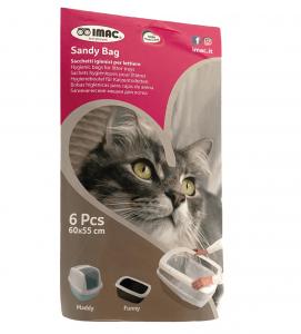 Imac - Sacchetti per Cassette Igieniche Sandy Bag - XL