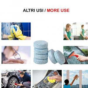 Washer Pads 30 Pz Detergente Concentrato Pastiglie Pulizia Vetri Parabrezza Auto