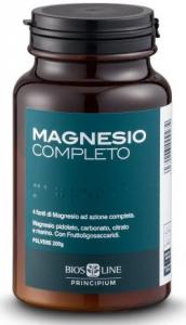 MAGNESIO COMPLETO COMPRESSE - AIUTA A RIDURRE STANCHEZZA ED AFFATICAMENTO