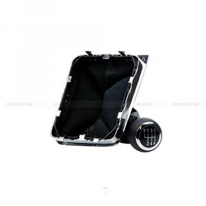 Pomello Leva Cambio 6 Marce + Cuffia e Telaio Auto Volkswagen Passat C0711113