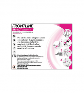 Frontline - TriAct - Da 5 a 10 kg - 3 pipette