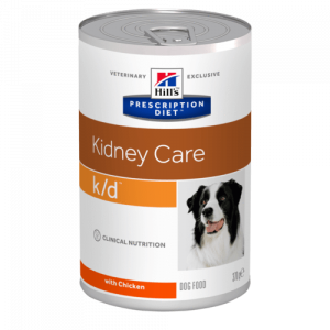 Hill's - Prescription Diet Canine - k/d - 370g x 12 lattine