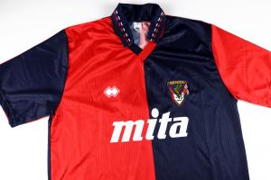 1991-92 Genoa Maglia #7 Ruotolo Home XL (Top)