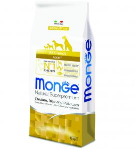 Monge - Natural Superpremium - Monoprotein - All Breeds Adult - 12 kg x 2 sacchi