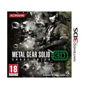 Metal Gear Solid 3: Snake Eater 3D - Usato - 3DS