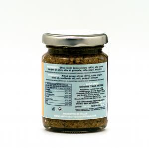 Paté di olive verdi 90 grammi