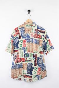 Camicia fantasia azteca