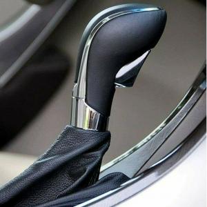 Pomello Per Leva Cambio Automatico Per Opel Insignia Meriva Zafira Grigio Nero