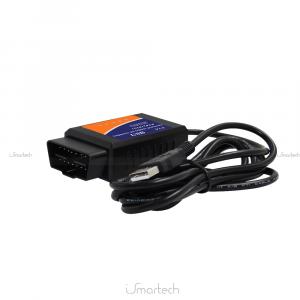 Scanner Cavo Connessione USB OBD2 V1.5 Diagnosi Auto Scanner OBDII Diagnostica