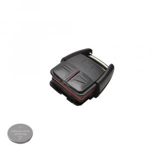 Chiave Cover Guscio + Batteria CR2032 3 Tasti Auto Opel Corsa Astra Meriva