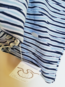 Copertina culla jersey di cotone Coccodè