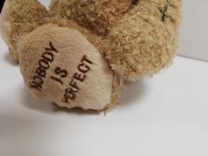 Orso rattoppato di Bukowski 25 cm