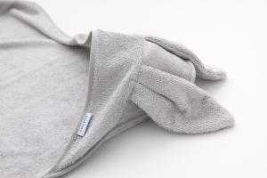 Asciugamano con cappuccio e guanto-BAMBOOM