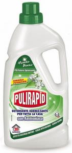 Set 12 AMICA Pulirapid Muschio Bianco Ammoniaca Lt 1 Detergente Igienizzante