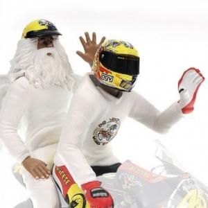Valentino Rossi & Angell Figurine GP250 Rio de Janeiro 1999 1/12