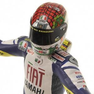 Valentino Rossi  Figurine Moto GP 2008 Misano 1/12