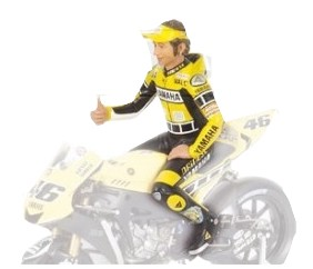 Valentino Rossi Figurine Moto GP 2005Laguna Seca 1/12