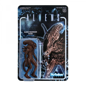 Aliens ReAction Action Figure: ALIEN WARRIOR Dusk Brown by Super 7
