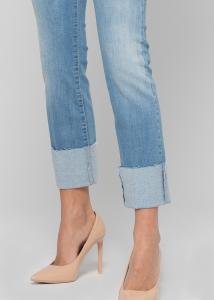 KOCCA JANI Pantalone denim slim leg, bottom up