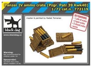 Panzer IV Ammo Crate