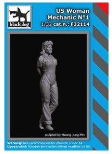 US Woman Mechanic No.1