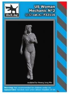 US Woman Mechanic No.2