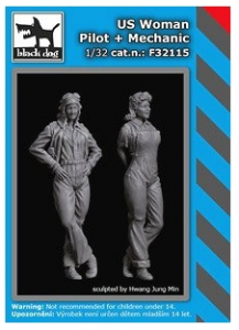 US Woman Pilot + Mechanic
