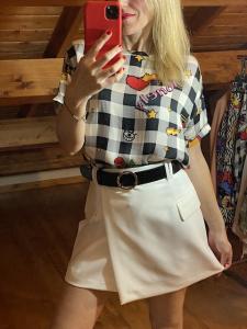 Minigonna Portafoglio Vicolo