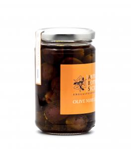 Olive nere condite 280 grammi