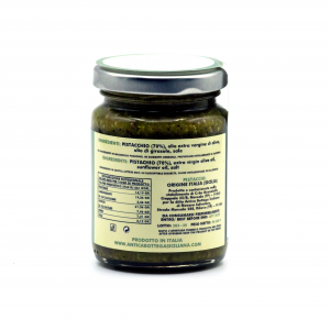 Pesto di pistacchi siciliani 90 grammi