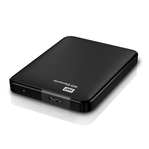 Western Digital WD Elements Portable disco rigido esterno 1000 GB Nero